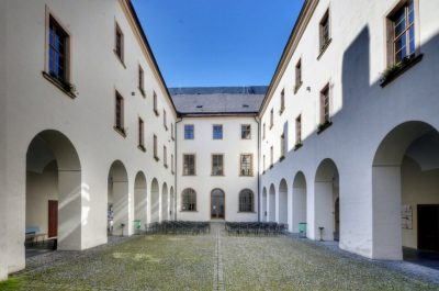Šternberk augustiniánský klášter
