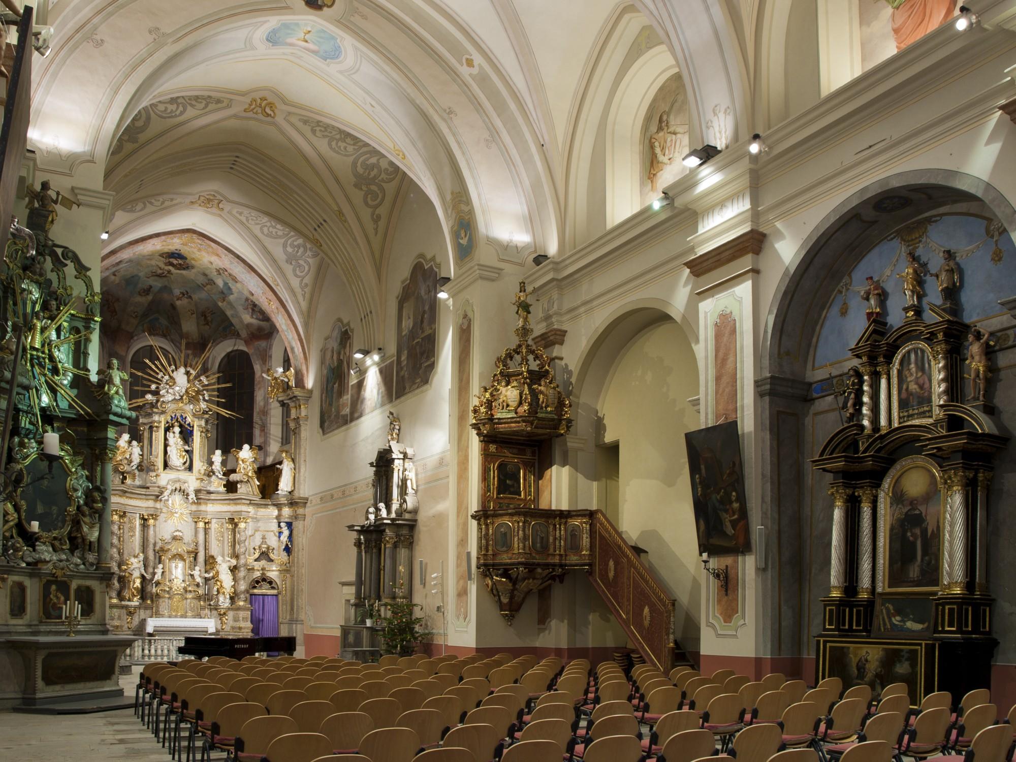 klášterní kostel Šumperk
